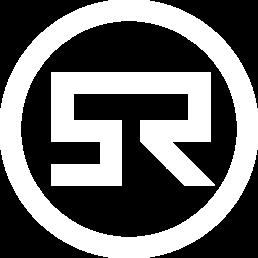Super Radical Architecture Design Logo in White